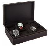 Beco Garrett Lederen Watchbox voor 8 horloges