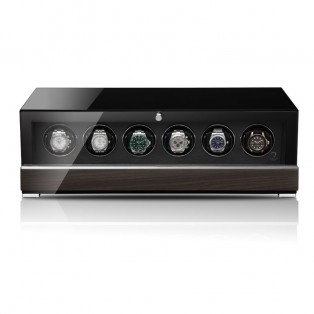 Modalo Clasico Six MV4 Black Makassar 6 Watch Winder