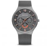 Bering 33441-377 Grey Mesh Horloge