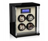 Modalo Epsilon MV3 Watchwinder Black Beige