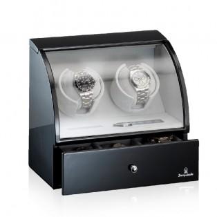 Designhuette Watchwinder Basel 2LCD BK