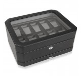 Wolf Windsor 10+ Horlogebox met Sieradenlade
