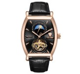 Tevise Automatic 8383D Black Rosegold