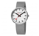 Mondaine Mini Giant 35mm Silver Mesh