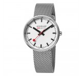 Mondaine Evo 35mm Mini Giant Silver Mesh
