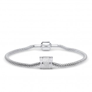 Bering Arctic Symphony Armband Silver STA1-S-ME