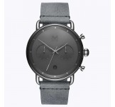 MVMT Blacktop Silver Mist 47mm