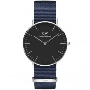 Daniel Wellington Classic Black 36mm Bayswater Silver