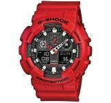 Casio G-Shock GA-100B-4AER Rood