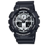 Casio G-Shock GA-100BW-1AER Black & White