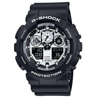 Casio G-Shock GA-100BW-1AER Black & White