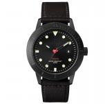Triwa Midnight Hvalen HVST105 Black Sewn Classic