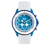 Ice-Dune Chrono Large White Superman Blue