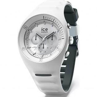 P. Leclercq ice-watch Large White Chrono Heren Horloge