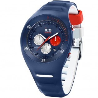 P. Leclercq ice-watch Large Dark Blue Chrono Horloge