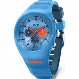 P. Leclercq ice-watch Large Light Blue Chrono Horloge