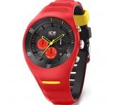 P. Leclercq ice-watch Large Red Chrono Horloge