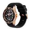 Ice-Watch Ice Steel Large Black Rosegold Horloge