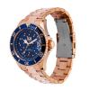Ice-Watch Ice Steel Medium Rosegold Swarovski Horloge