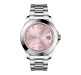 Ice-Watch Ice Steel Medium Classic Light Pink Stones