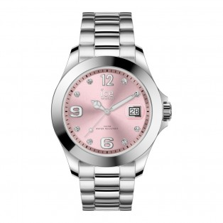 Ice-Watch Ice Steel Medium Classic Light Pink Stones