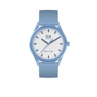 Ice-Watch Ice-Solar Medium Lichtblauw Wit