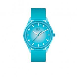 Ice-Watch Ice-Solar Medium Neon Blauw