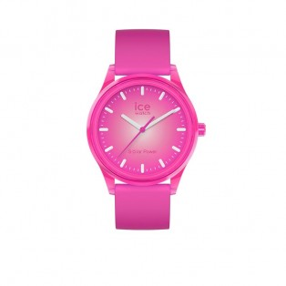 Ice-Watch Ice-Solar Medium Neon Roze