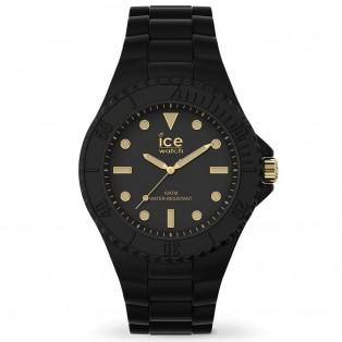Ice-Watch Generation Medium Zwart Goud IW019156