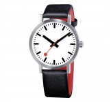 Mondaine Classic 40mm Quartz Pure