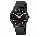 Mondaine Essence 41mm Black Eco-Friendly