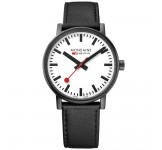 Mondaine Evo II 40mm Black Watch