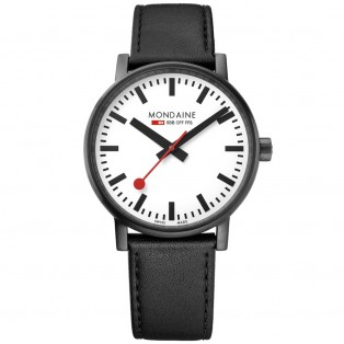 Mondaine Evo II 40mm Black Watch