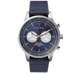Triwa Blue Steel Nevil Navy Canvas Classic NEST108