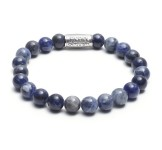 Rebel & Rose Armband 8mm Midnight Blue L