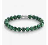 Rebel & Rose Armband Malachite Green L