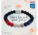 Rebel & Rose Armband 8mm Liberty M