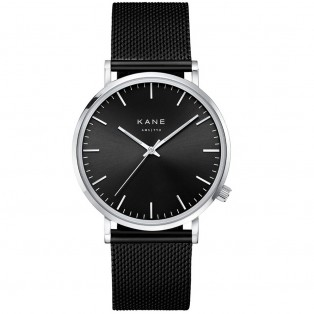 Kane Black Code Black Mesh Horloge