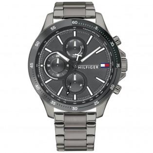 Tommy Hilfiger Bank Horloge TH1791719 Grey