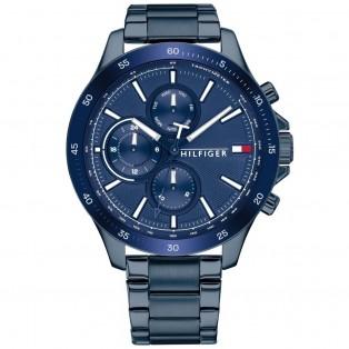 Tommy Hilfiger Bank Horloge TH1791720 Blue