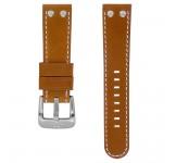 TW Steel 22mm Horlogeband Cognacbruin Leder
