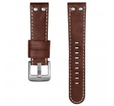 TW Steel 22mm Horlogeband Donkerbruin Leder