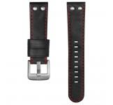 TW Steel 22mm Horlogeband Zwart Rood