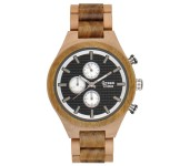 GreenTime ZW101B Houten Horloge 46mm