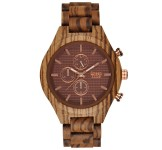 GreenTime ZW101C Houten Horloge 46mm