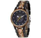 GreenTime ZW119A Houten Solar Horloge