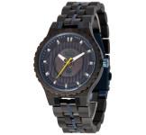 GreenTime ZW119B Houten Solar Horloge