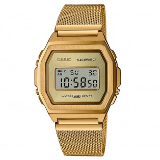 Casio A1000MG-9EF Vintage Horloge