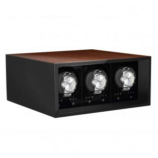 Beco BLDC Safe Watchwinder voor 3 horloges
