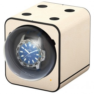 Beco Boxy Fancy Brick Creme Leather Watchwinder